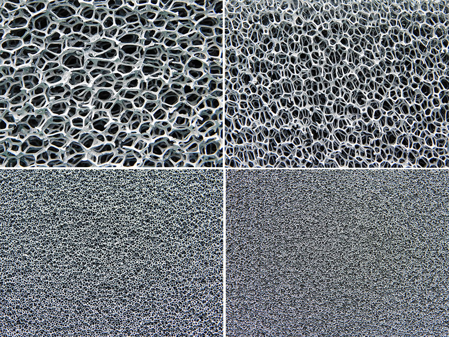 Refractory Open Cell Foams Carbon Ceramic And Metal