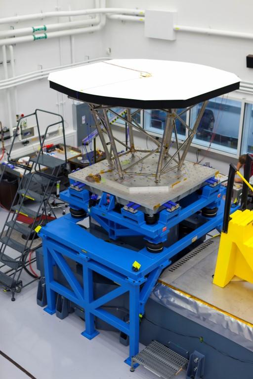 Parker Solar Shield in Vibration Test